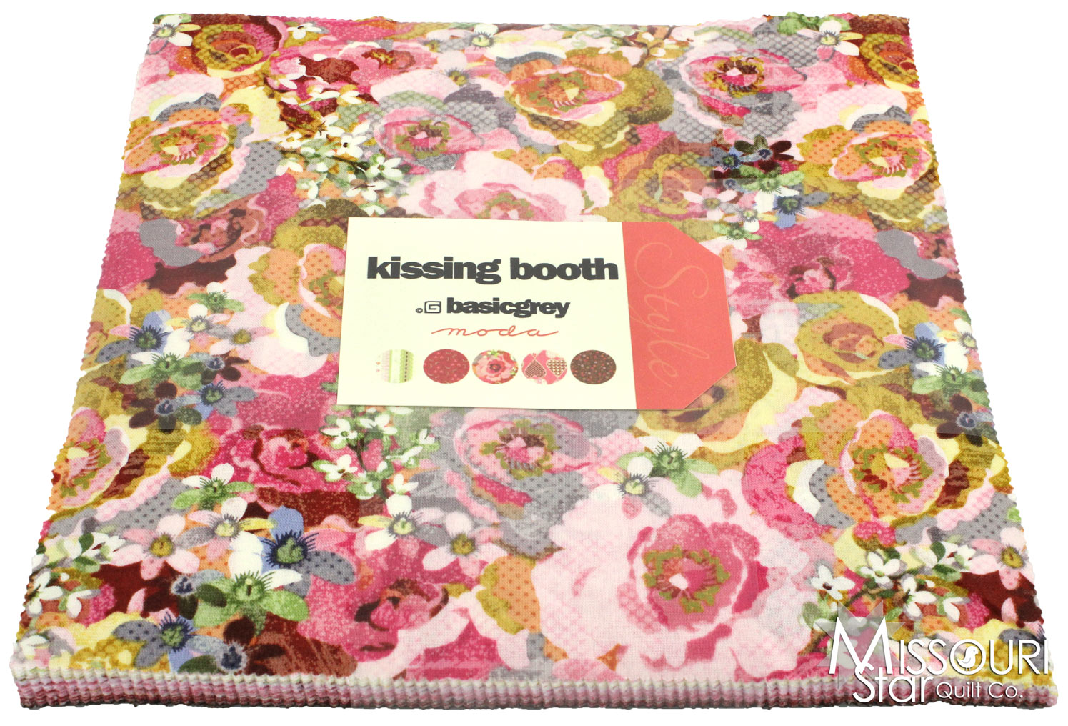 Kissing Booth Layer Cake Basicgrey Moda Fabrics