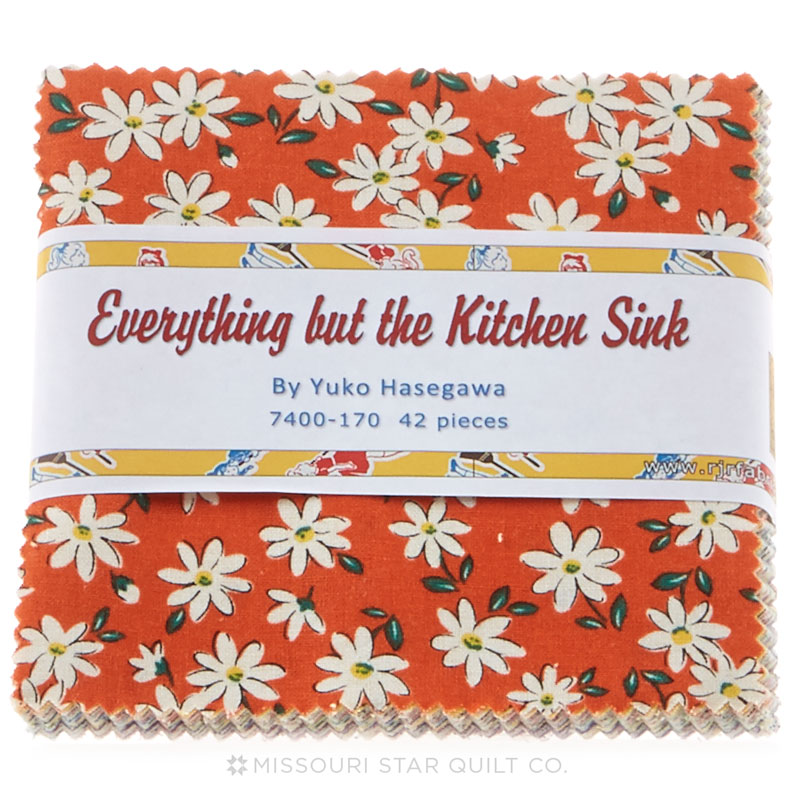 everything but the kitchen sink fabric everything but the kitchen sink 2014 charm pack 9649