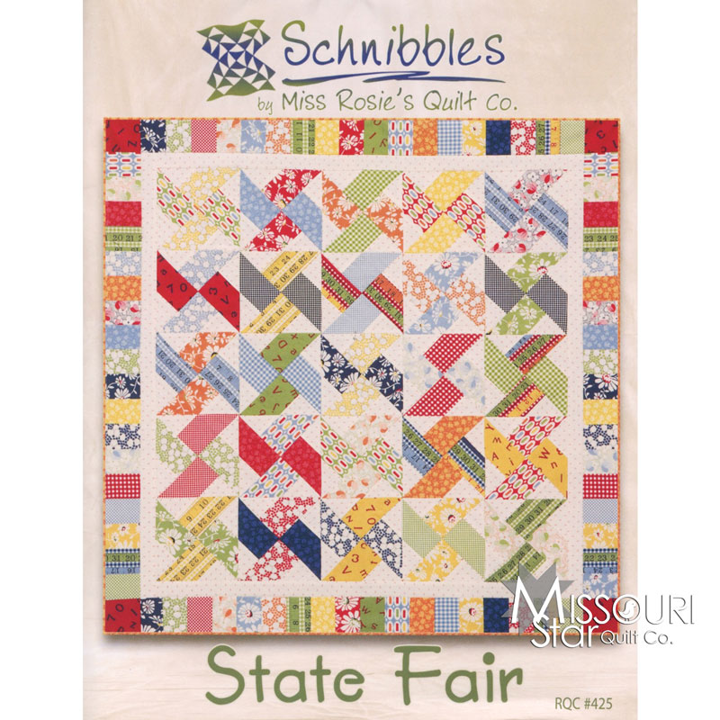 Schnibbles State Fair Mini Quilt Pattern Miss Rosie S