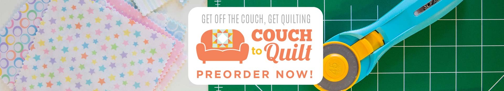 Couch to Quilt - Beginner Quilting