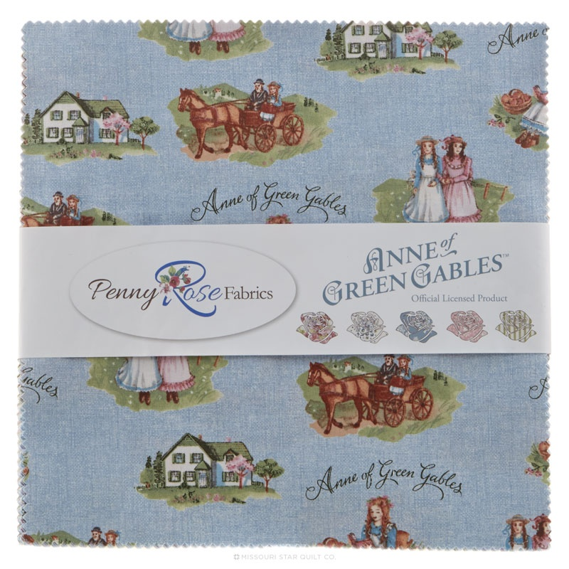 Anne Of Green Gables 10 Quot Stackers Riley Blake Designs