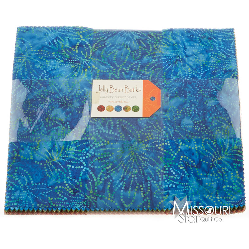 Jelly Bean Batiks Layer Cake - Laundry Basket Quilts ...