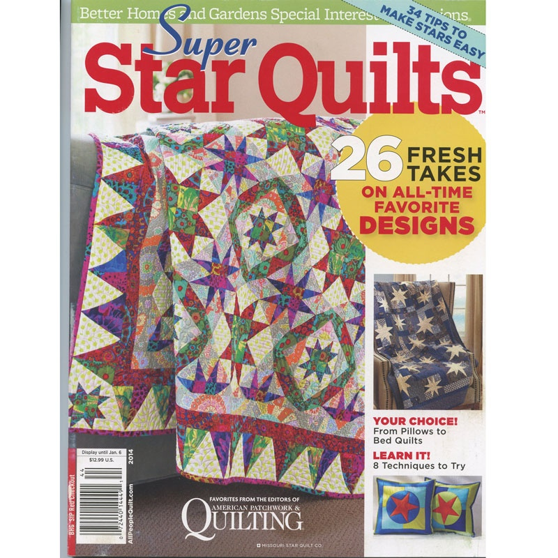 Super Star Quilts - Better Homes & Gardens Magazine ...