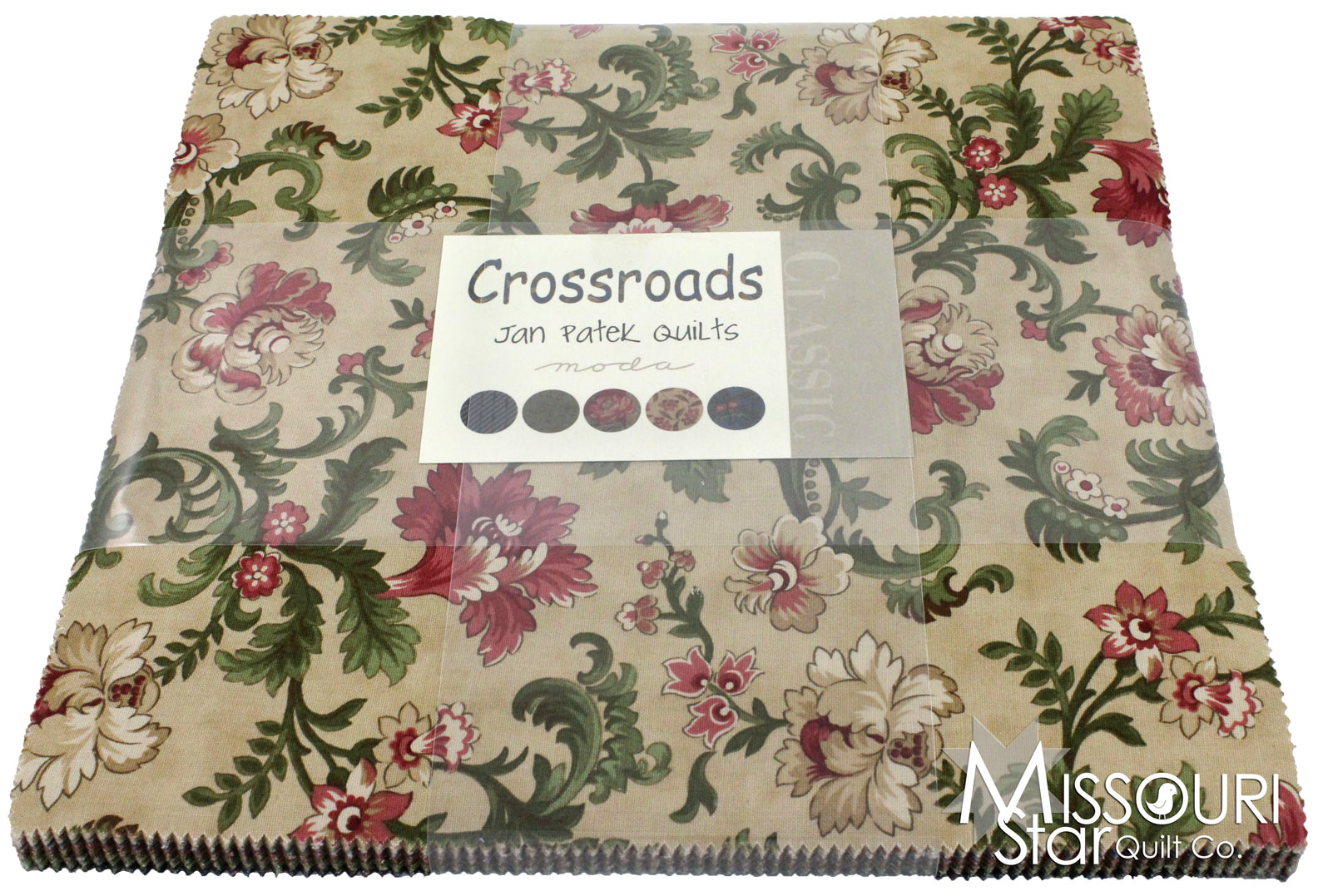 Layer Cake Quilt Material : Crossroads Layer Cake - Jan Patek Quilts - Moda Fabrics ...