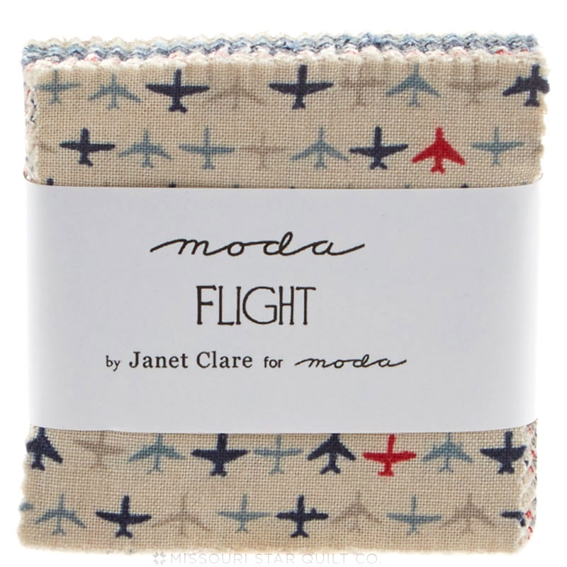 Flight Mini Charm Pack Janet Clare Moda Fabrics