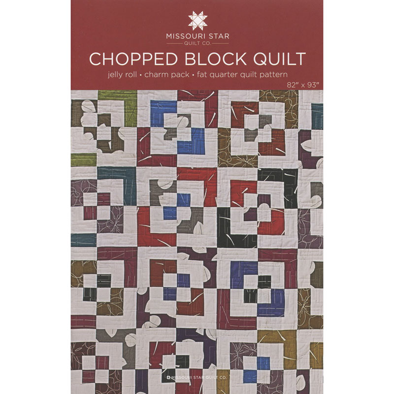 Chopped Block Quilt Pattern - MSQC