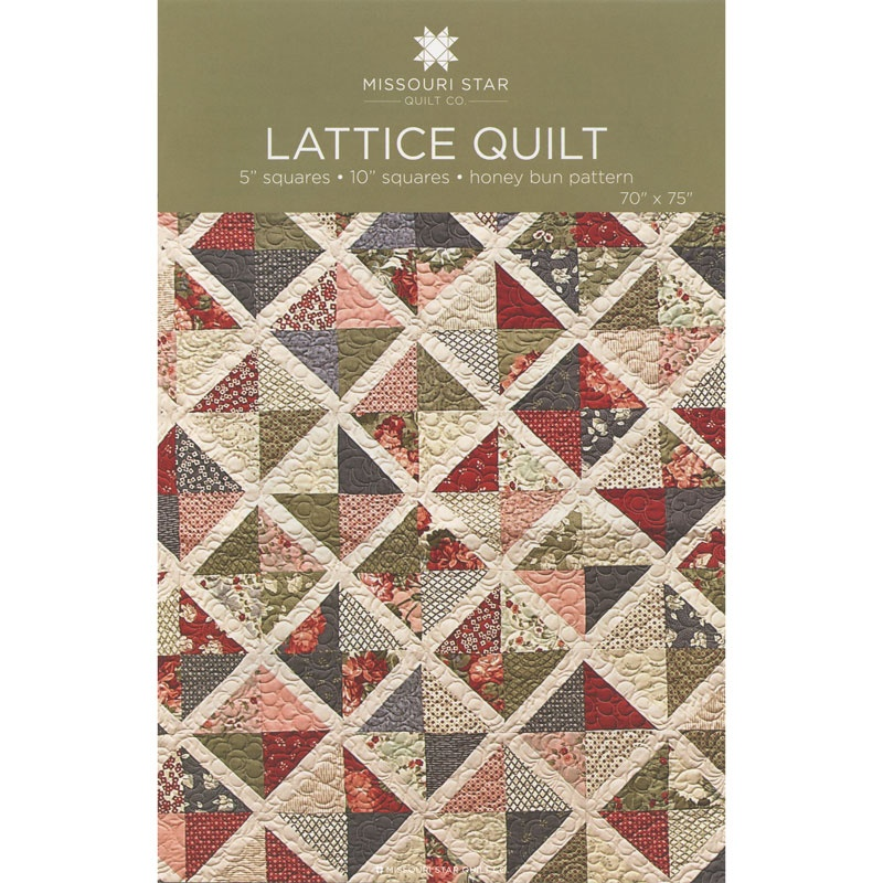 Lattice Quilt Pattern by MSQC - MSQC Missouri Star Quilt Co.