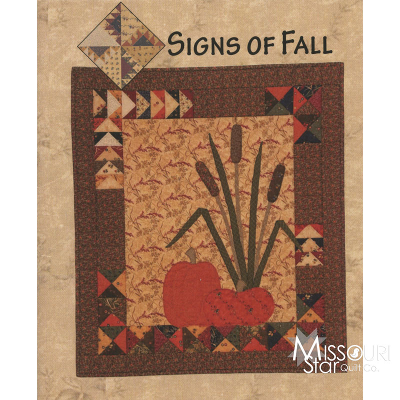 Signs of Fall Wall Hanging Pattern