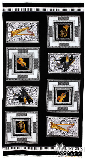 Concerto - Symphony Square Black Panel