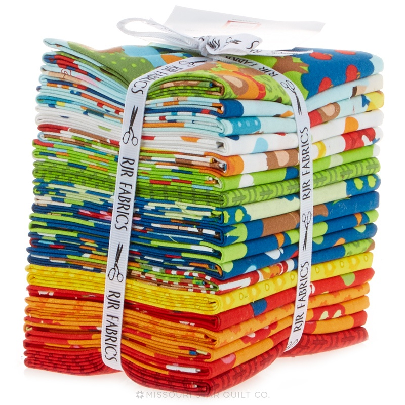Apple hill farm fat quarter bundle kids quilts rjr fabrics for Childrens fabric bundles
