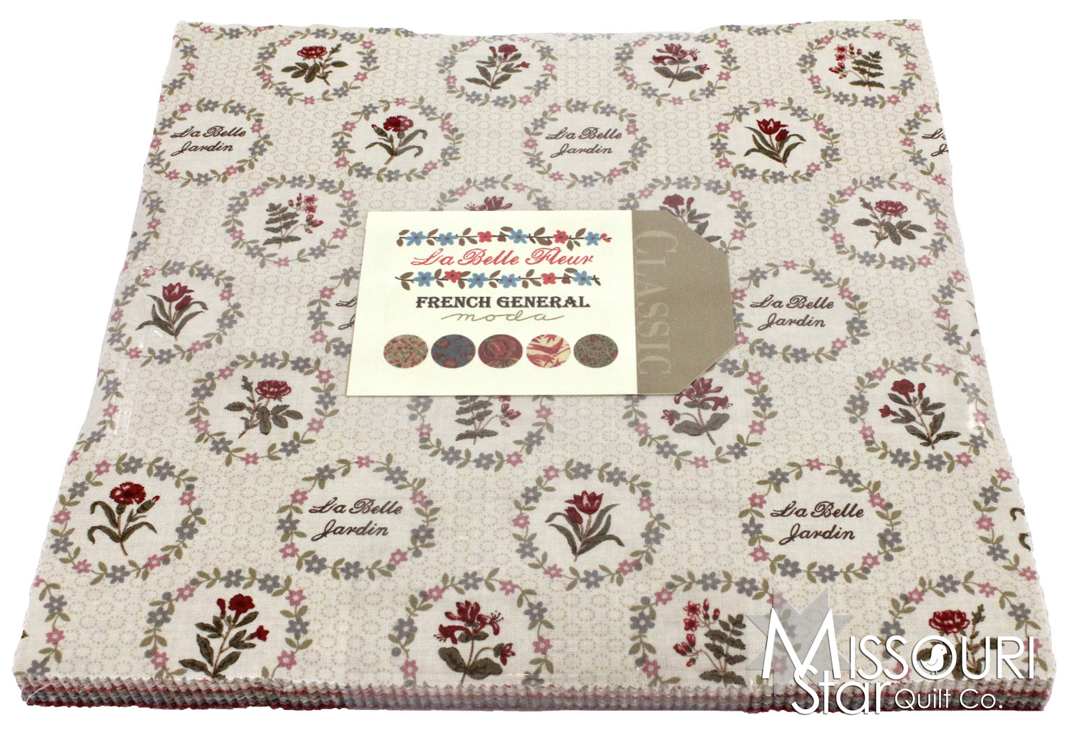 Layer Cake Quilt Material : La Belle Fleur Layer Cake - French General - Moda Fabrics ...