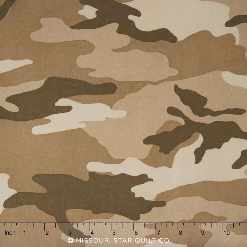 Camo Woodland Camo Tan Yardage Kate Mcrostie Windham