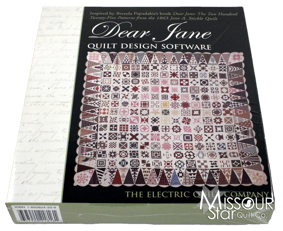 Free Quilt Block Design Program : Dear Jane Quilt Design Software - Electric Quilt Company Missouri Star Quilt Co.