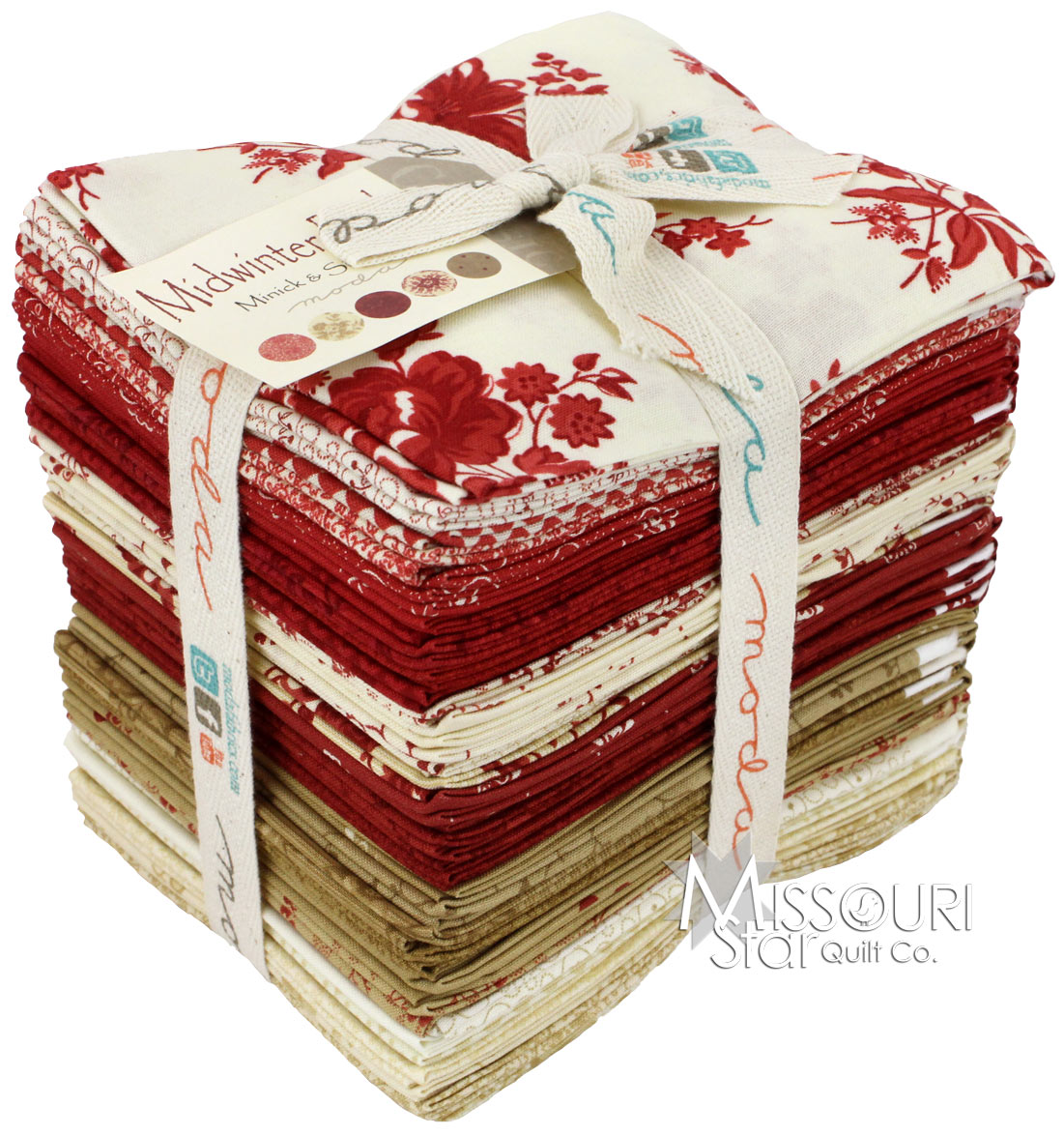 Midwinter Reds Fat Quarter Bundle