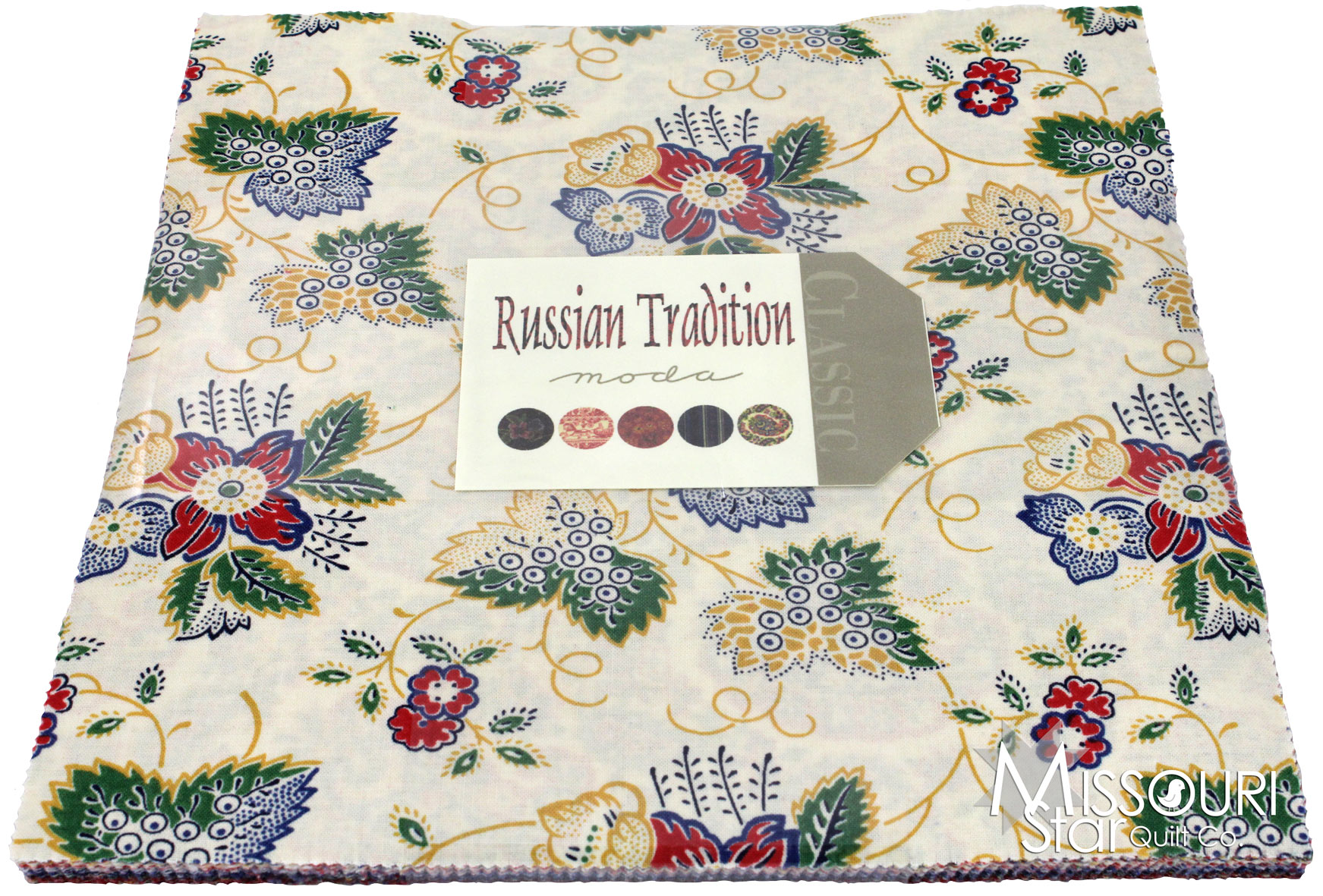 Layer Cake Quilt Material : Russian Tradition Layer Cake - Moda Fabrics - Moda Fabrics ...