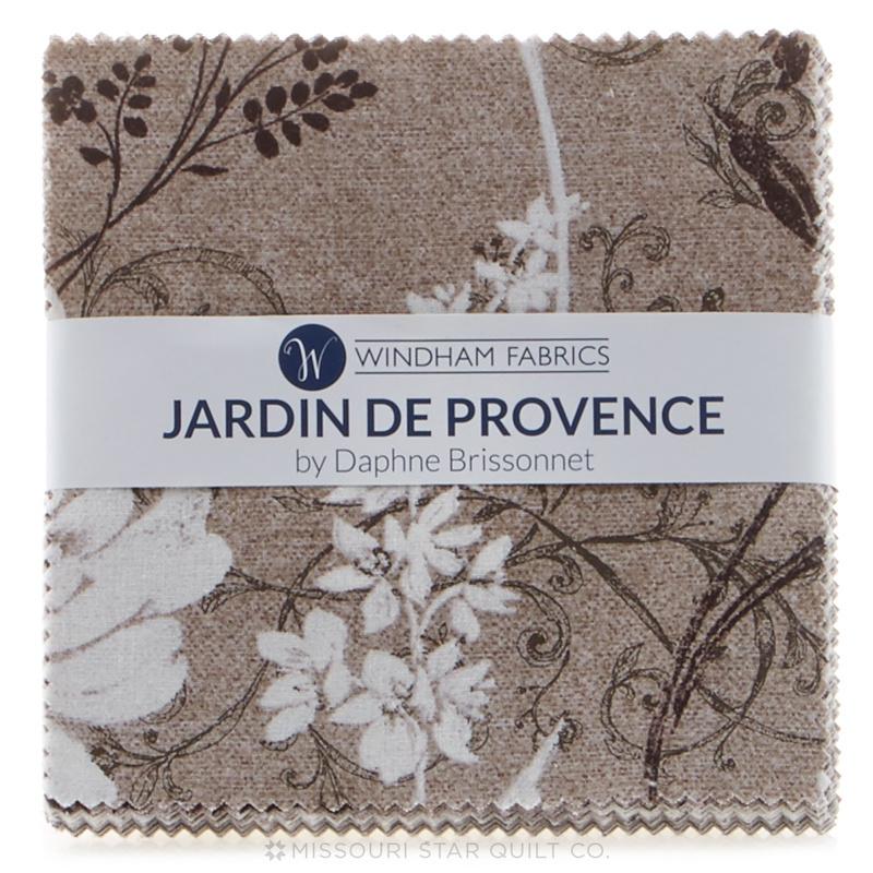 jardin de provence charm pack daphne b windham fabrics. Black Bedroom Furniture Sets. Home Design Ideas