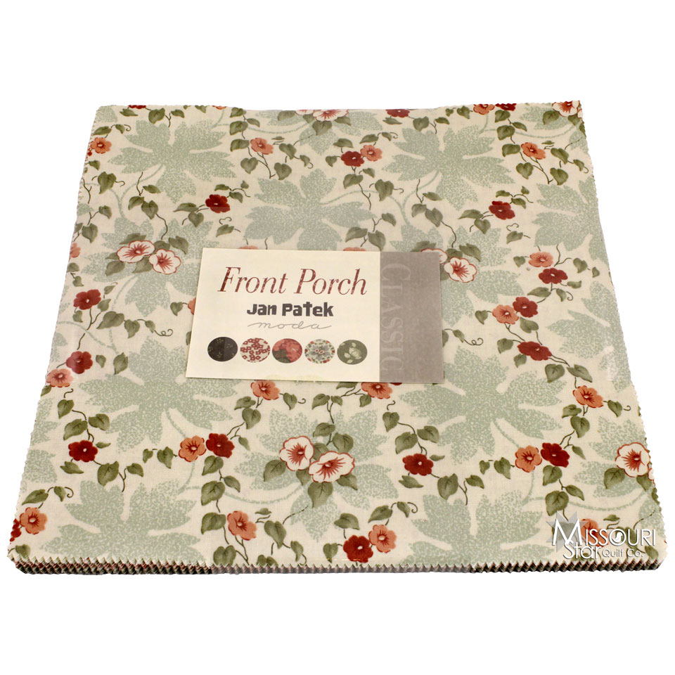 Layer Cake Quilt Material : Front Porch Layer Cake - Jan Patek Quilts - Moda Fabrics ...