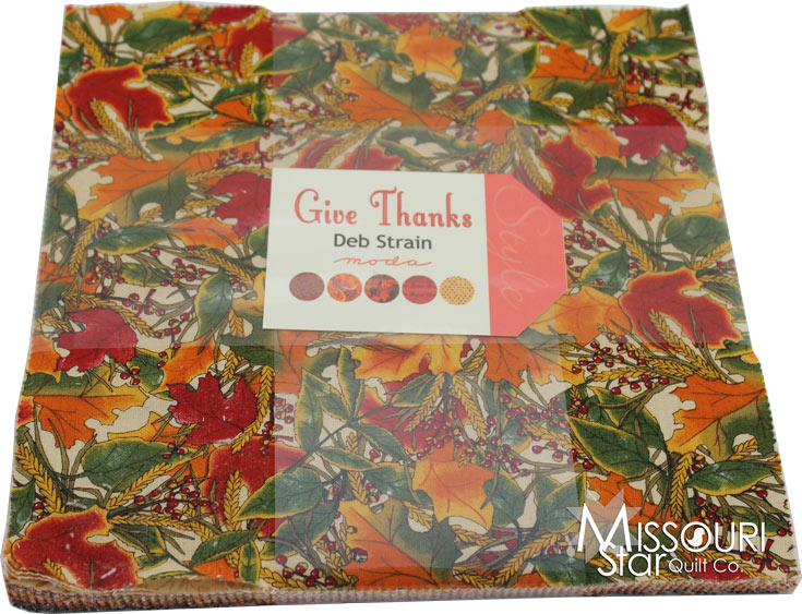 Layer Cake Quilt Material : Give Thanks Layer Cake - Deb Strain - Moda Fabrics ...