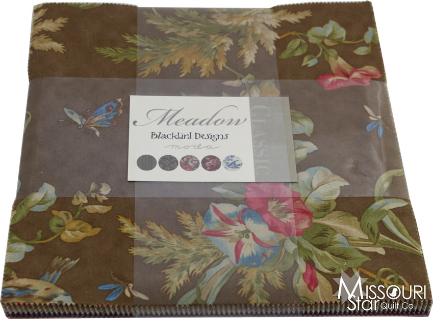 Meadow Layer Cake - Blackbird Designs - Moda Fabrics ...