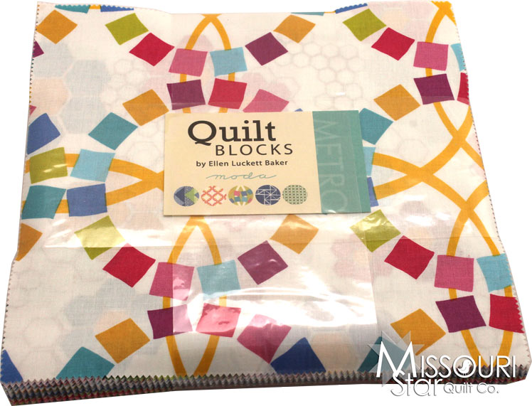 Layer Cake Quilt Missouri Star : Quilt Blocks Layer Cake - Ellen Luckett Baker - Moda Fabrics