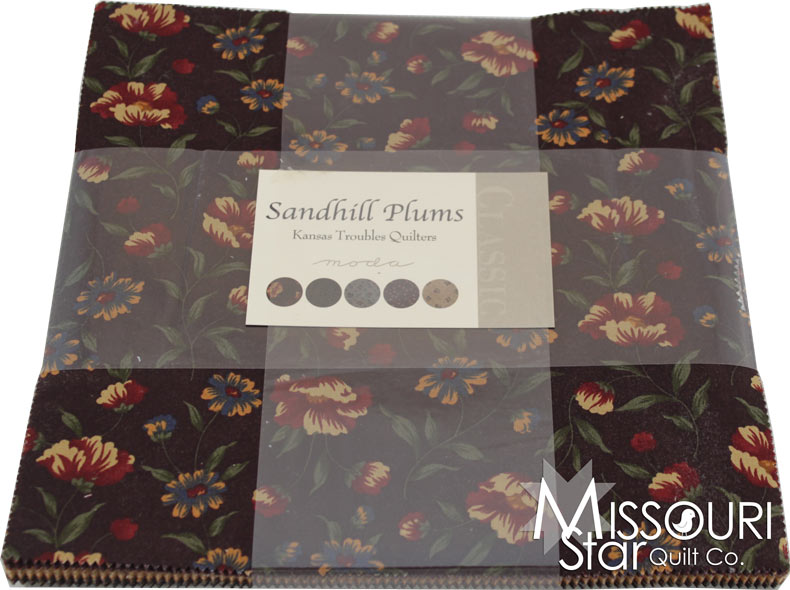 Layer Cake Quilt Material : Sandhill Plums Layer Cake - Kansas Troubles - Moda Fabrics ...