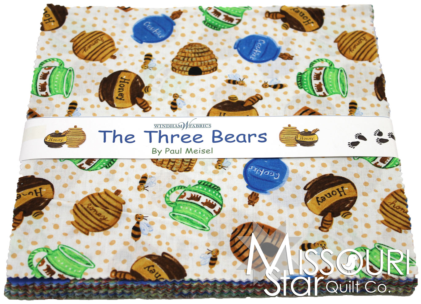 The Three Bears 10 Quot Squares Paul Meisel Windham