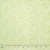Cozy Cotton Girl - Pistachio Flannel Yardage