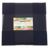 Bella Solids Navy Junior Layer Cake