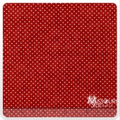 Moda Essential Dots - Country Red Yardage