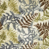 Stonehenge Hidden Valley Flannel - Moss Fern Yardage