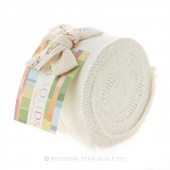 Bella Solids  Porcelain Junior Jelly Roll by Moda
