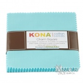 Kona Cotton - Bahama Blue Charm Pack