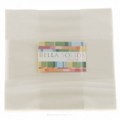 Bella Solids Ivory Junior Layer Cake