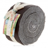Bella Solids Modern Jelly Roll by Moda