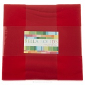 Bella Solids Christmas Red Junior Layer Cake