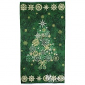 Stonehenge Green Tree Starry Night Wall Hanging Kit with Lights