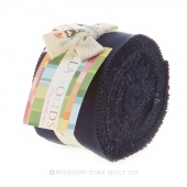 Bella Solids Navy Junior Jelly Roll