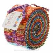 Tiger Lily Batiks Jelly Roll