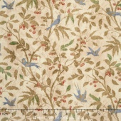 Eclectic Elements - Wallflower Birds & Berries Multi Yardage