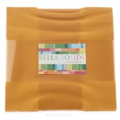 Bella Solids  Golden Wheat Junior Layer Cake by Moda
