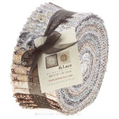 Burlap & Lace Jelly Roll