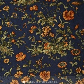 Sunflower Song - Nature's Symphony Navy Yardage