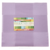 Bella Solids Lilac Junior Layer Cake by Moda
