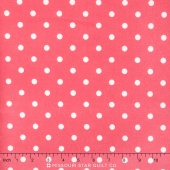 Cozy Cotton Girl - Hot Pink Flannel Yardage