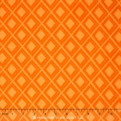 Simply Colorful - Ikat Orange Yardage