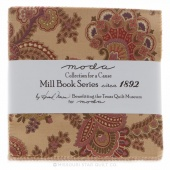 Collections for a Cause - Mill Book c.1892 Charm Pack