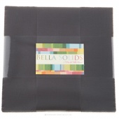 Bella Solids Lead Junior Layer Cake by Moda