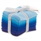 Kona Cotton Solids - Sky Gazer Fat Quarter Bundle