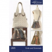 Grids and Grommets Tote Pattern