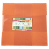 Bella Solids Ochre Junior Layer Cake by Moda